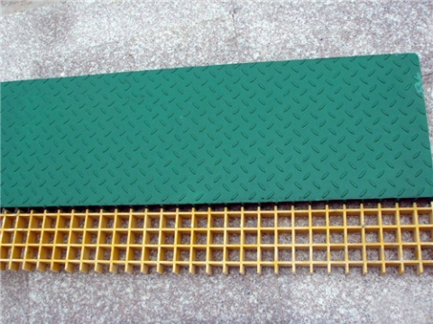 复合格栅板