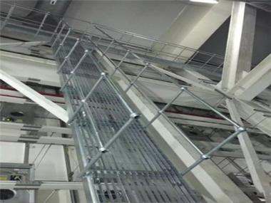 作业钢梯栏杆