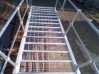 钢格栅包边选用焊高不小于承载扁钢厚度的单面贴角焊