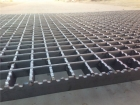 钢格板焊接完成后还要经过最后一道工序